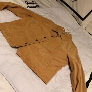 Appleseed's XL Mustard colors Jacket Corduroy.